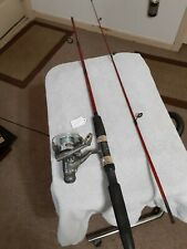 """Spinning fishing Rod Series 93 5'6""""12lb Med And reel Shakespeare Lot42"""