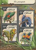 Papagei Djibouti 2016 gestempelt 1479