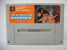 Super Famicom Darius Twin Japan SFC SNES