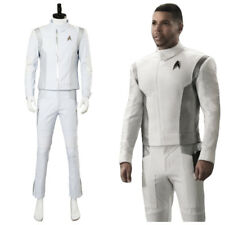 Star Trek Discovery Dr. Nambue Cosplay Costume White Medic Officer Suit Uniform