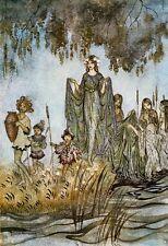 Midsummer NOTTI SOGNO V by Arthur Rackham stampa poster foto immagine Arte A4