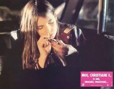 NATJA BRUNCKHORST CHRISTIANE F. WIR KINDER VOM BAHNHOF ZOO 1981 LOBBY CARD #6