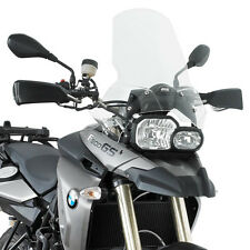 GIVI 333DT BMW F800GS 08-11 WINDSCREEN TOURING 22CM HIGHER INCLUDING FITTING KIT