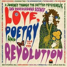 LOVE, POETRY AND REVOLUTION: A JOURNEY THROUGH THE BRITISH PSYCHEDELI (NEW CD)