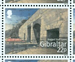 Gibraltar 2016 Mi. 1735-40 ** MNH Historische Tore Gates Michel 14,50 €