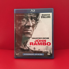 John Rambo - Sylvester Stallone - Collector's Edition Blu-Ray ed.1^ prima USCITA