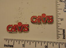 TWO Old 1989 Limited Edition NBA Basketball Pins - Cleveland CAVs