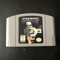 Star Wars: Shadows of the Empire Video Game (Nintendo N64, 1996) Used & Tested