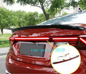 1x Rear Door Trunk LED Tail Light Cover For Kia Forte 2019 2020 2021 Accessories