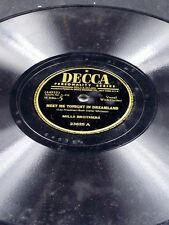 Decca 23625 Mills Brothers MEET ME TONIGHT IN DREAM LAND / CAN'T YOU HEAR 78 E-