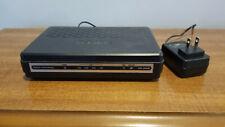 D-Link DSL-2540B ADSL2+ 4 Port Router Modem and Ethernet Router