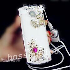 Glitter Luxury Bling Diamonds Soft Gel back Case Cover with strap for Samsun C2