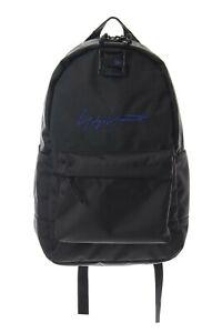Yohji Yamamoto logo backpack black