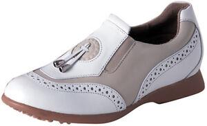 Sandbaggers Golf Shoes: Madison II Almond