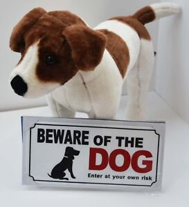 Beware Of The Dog Safety Sign by Pet Touch