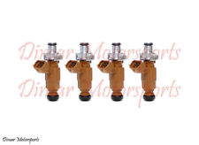 *Best Upgrade* Flow Matched Genuine Bosch Fuel Injector Set 4-Hole Nozzle Spray
