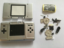 Full Repair Housing Shell Case Replacement for Nintendo NDS Silver