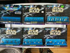 1995 1996 Galoob Micro Machines Sealed Star Wars 66080 Lot of 6 All Figures A3