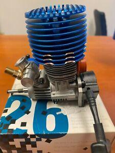 NEW Dynamite Mach M26 DYN0887 .26 RC Nitro Buggy Truck Engine with Pull Start