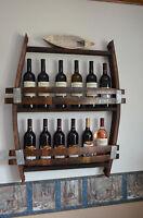 12-14 Bottle Wine Barrel wine rack