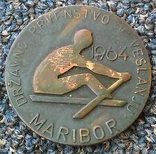 National Rowing Championship 1964. MARIBOR SLOVENIA, VESLANJE, Rowing plaque !