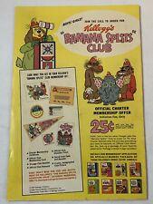 1969 Kellogg's Hanna-Barbera BANANA SPLITS CLUB ad page