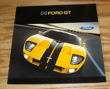 Original 2005 Ford GT Deluxe Sales Brochure 05