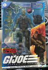 GI JOE Classified Series Beach Head Sneeden Figure TARGET EXCLUSIVE NEW IN HAND!