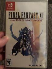 New listing Final Fantasy Xii: The Zodiac Age 2 - Nintendo Switch