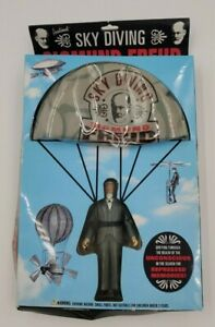 """Sigmund Freud Figure Sky Diving 2007 5"""" Action Figure With Parachute"""