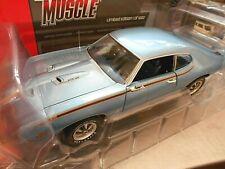 PONTIAC GTO Coupe Judge hell blau blue 1969 US Muscle V8 AMT Ertl SP 1:18