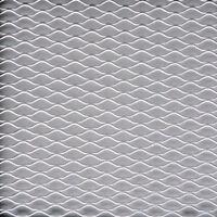 Universal Silver Aluminium Racing Race Honeycomb Mesh Grill Spoiler Bumper Vent