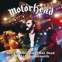 """MOTÖRHEAD """"BETTER MOTÖRHEAD THAN DEAD-LIVE"""" 2 CD NEU"""