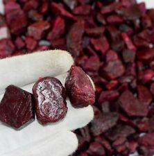 Wholesale Lot 4000 Ct Red Ruby Gemstone Rough Natural Madagascar