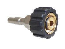 Adapter für Schnellkupplung Kränzle Hobby Serie K1050 Stecknippel D10 - M22 IG