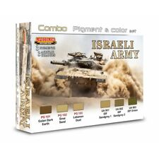 Lifecolor SPG01 Istraeli Army Combo Pigment&Color Set 6x22 ml (100ml=15,91€)
