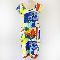 NEW Jams World Dress Grande Print Hawaiian Sundress XL USA Made