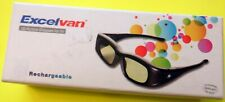 3D Active Shutter Glasses for TV rechargeable Excelvan