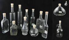 bottiglia in vetro per olio vino liquore limoncello fatto in casa viaggio regalo