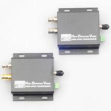 RS485 HD-SDI to Fiber Converter ST 20KM Single Mode Transmitter Receiver Loop