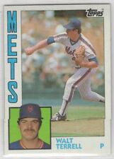 1984 Topps Baseball New York Mets Team Set