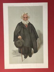 Original 1903 Vanity Fair Print of Sir William Huggins - Astronomy
