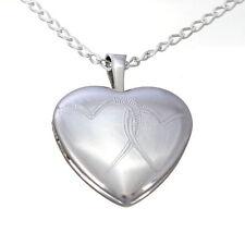 Echte Edelmetall-Halsketten & -Anhänger ohne Steine im Medaillon-Stil für Damen