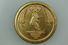 NZ MP COM SERIES 1984 YVETTE WILLIAMS SHELL MEDAL GOLD ANODISED ALUMINIUM