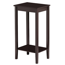 Tall End Table Multi-purpose Small Space Table Sofa Side Table