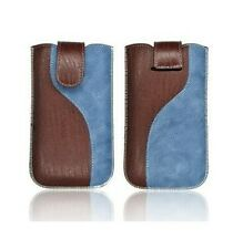 HOUSSE ETUI PROTECTION ★★ CUIR  JEANS ★★ IPHONE 4 4S ★★