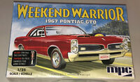 MPC 1967 Pontiac GTO Weekend Warrior 1:25 scale model car kit new 918