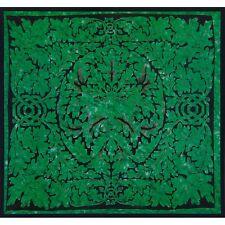 Celtic Knot Pagan Deity Green Man Emerald Single Tapestry