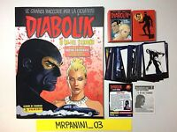 DIABOLIK - Panini 2017 - ALBUM + Set 276 Figurine-stickers + Set 36 Cards