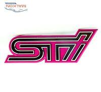 FRONT GRILLE EMBLEM BADGE LOGO STI FOR SUBARU IMPREZA WRX 93013FE070
